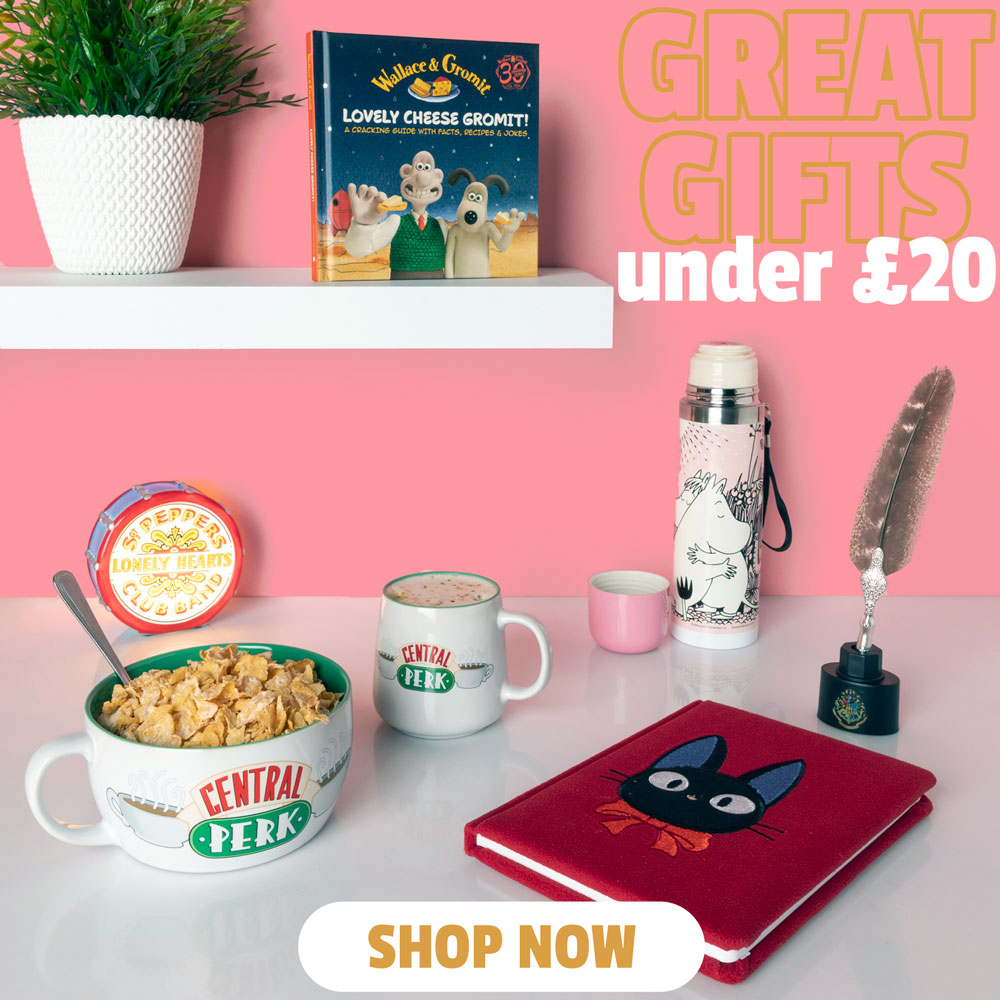 GREAT GIFTS UNDER £20 - Shop