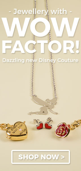 Disney Couture, a glamorously grown up jewellery range that is sure to take centre stage.