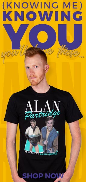 Alan Partridge - Shop Now