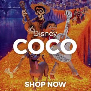 Shop our new t-shirts and gifts featuring designs from the new Disney Pixar movie, Coco!