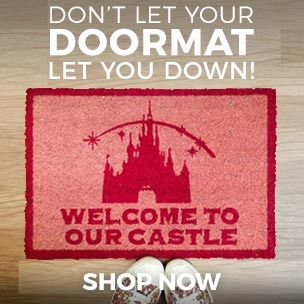 Don't let your doorway let you down! Shop our doormats to brighten up your hallway or doorstep!