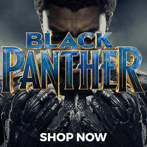 Forget Batman, and maybe even forget Superman, Black Panther is quickly becoming the world's favourite super hero. Pay homage in style, with our range of official Black Panther t-shirts.