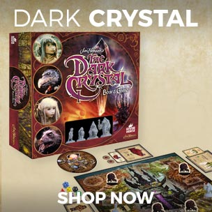 Buy our Dark Crystal Board game, it's an essential collectors item for any fan and a wonderful way to introduce Henson's quirky cult classic to the next generation.