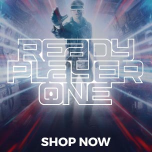 Are you ready? Join the game in style with our collection of Ready Player One T-Shirts, Ready Player One mugs and more!