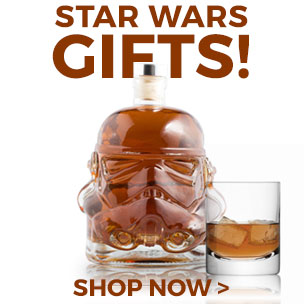 These are the gifts you are looking for. Try and force yourself not to look at our Star Wars collection.