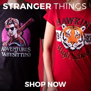 Our Stranger Things tees and mugs are a fitting way to show your appreciation for the Netflix's hit sci-fi series! Remember friends don't lie.