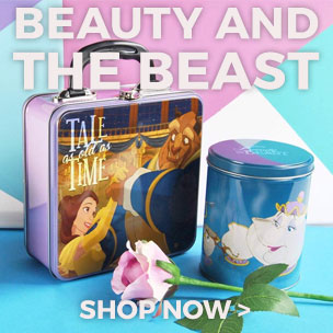 Be the true Belle of the ball with our captivating collection of official Beauty and the Beast clothing, jewellery and gifts!