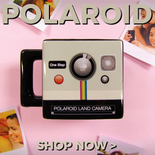 Oh, snap! Shop our official Polaroid homewares.