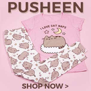 Show your appreciation for the chubby, tubby tabby who has taken the Internet by storm with our utterly purrrr-fect Pusheen T-Shirts, Accessories and Gifts.