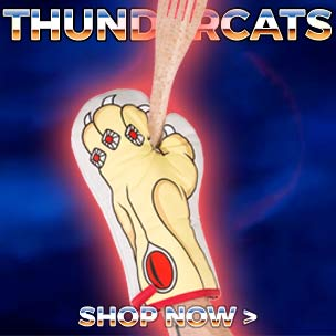 Feel the magic, hear the roar, ThunderCats are loose! Bringing back purrfect memories? Shop our Thundercat t-shirts, gifts and accessories