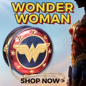 Shop our Wonder Woman T-Shirts & Accessories. WARNING: They contain added POW factor!