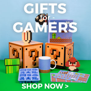 If you are a gamer check out our range of accessories, gifts and clothing