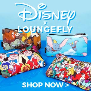 Created by the cult US brand Loungefly, these wash bags are a fab find for any Disney fan.