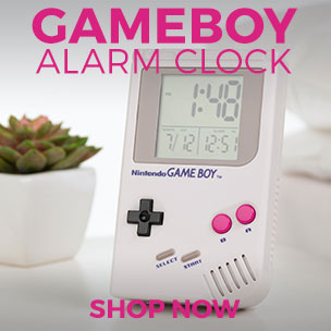 Gameboy Alarm Clock - Shop Now
