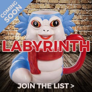 Coming soon! Say ello to this fantastic Labyrinth Worm 3d mug.