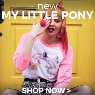 Shop online for My Little Pony clothing for adults and kids, gifts and accessories