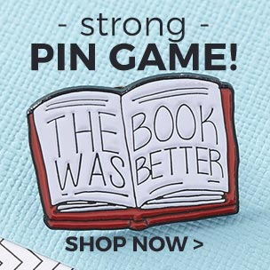 Up your #pingame with our officially awesome selection of brooches, badges and enamel pins