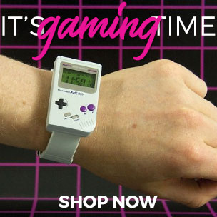 It's gaming time - Game Boy Goodies - Shop Now