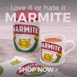 Shop our real retro delights for any Marmite lover! Now, pass the toast please.