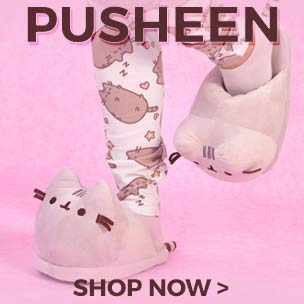 Shop online for Pusheen clothing, toys and accessories today at Truffle Shuffle and be part of the Pusheen cat revolution.