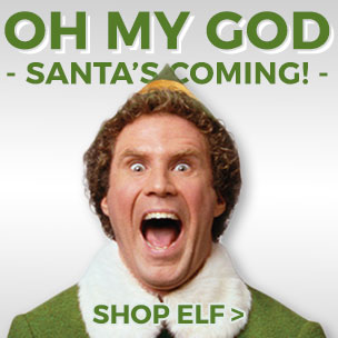 Santa's coming!!!!! Look at our Elf t-shirts, gifts and accessories.
