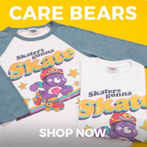 Keep the Care Bears spirit alive with fabulous tees and jumpers. They're sure to bring those fuzzy feelings of nostalgia flooding back.