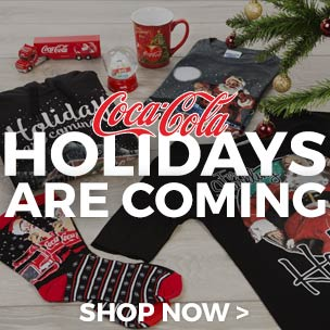 From T-Shirts depicting the iconic scenes to miniature versions of the Trucks themselves, kick off the holidays season with our exclusive range and start the countdown to Xmas in style!