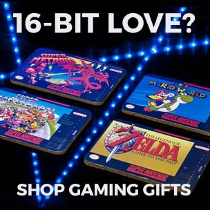 Score top points by shopping our Gaming T-Shirts, clothing, accessories, gifts and homewares