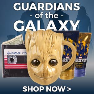 Shop Guardians of the Galaxy T-Shirts for the perfect way to pay tribute to these ultra-cool intergalactic characters