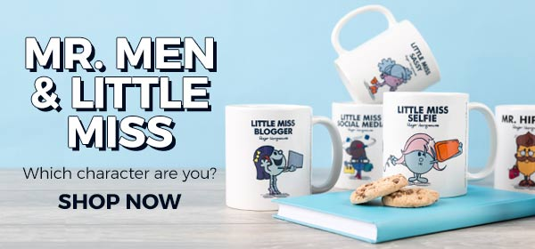 Whatever your personality or mood, there's a Mr Men or Little Miss character for you!