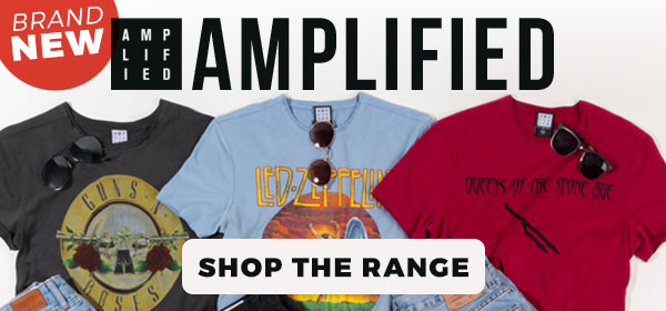 Brand New Amplified Clothing - Shop Now