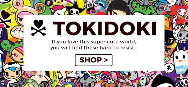 If you love the super cute world of Toki Doki you will find it hard to resist shopping our range...
