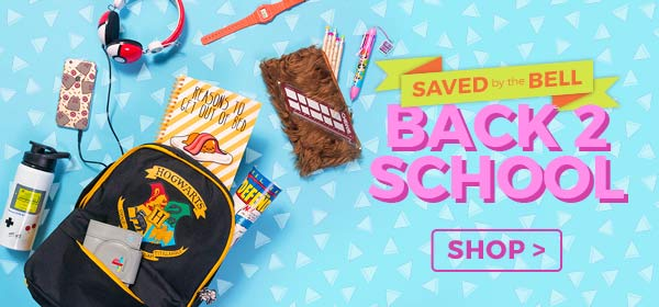 Shop our snazzy Stationery to brilliant Backpacks, these awesome finds are strictly for the coolest kids in the playground.....