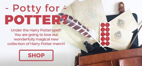 Potty for Potter?! Under the Harry Potter spell? You are going to love our wonderfully magical new collection of Harry Potter merch! - Shop Now