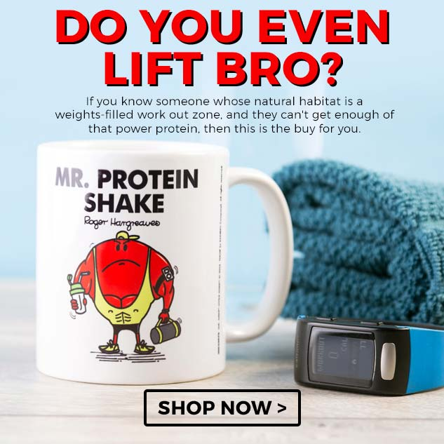 If you know someone whose natural habitat is a weights-filled work out zone, and they can't get enough of that power protein, then this is the buy for you.