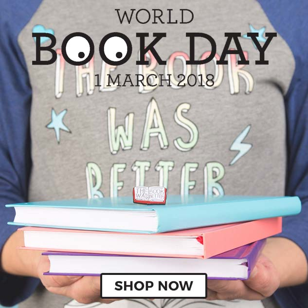 Our World Book Day clothing, gifts and homewares are sure to help you celebrate your favourites and get your imagination all fired up! Shop now!