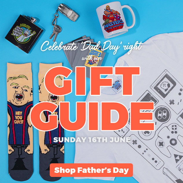 Celebrate 'Dad Day' right with our GIFT GUIDE - Sunday 16th June - Shop Father's Day