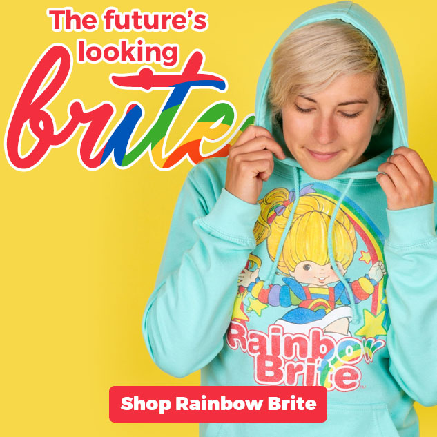 The future's looking BRITE! Shop Rainbow Brite