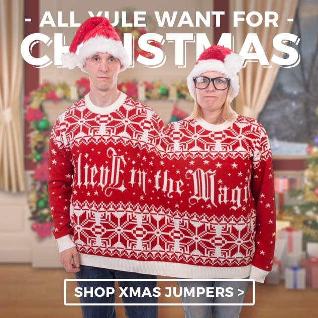 All you'll want for Christmas... is it ever too early to spread xmas cheer? Shop our cheesey christmas jumpers.