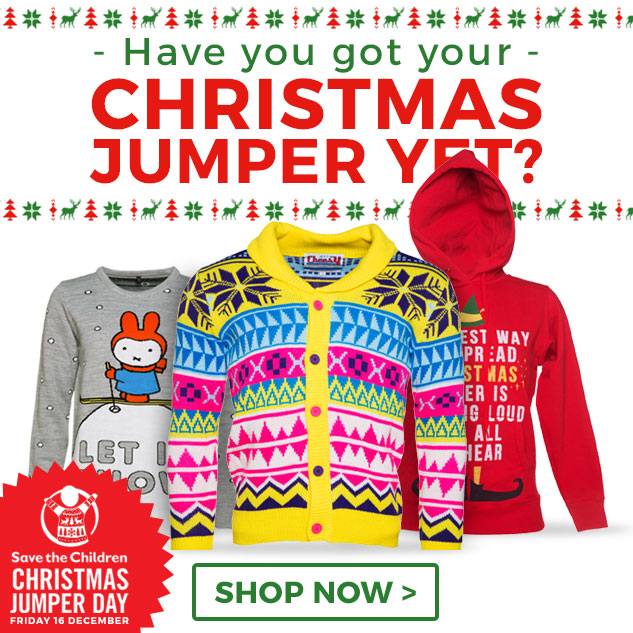 Feeling festive, or just want to be different see our range of Christmas Jumpers