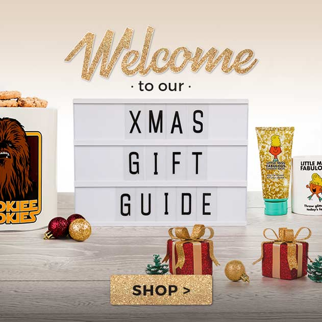 Buy great Xmas present ideas in our Christmas Gift Guide