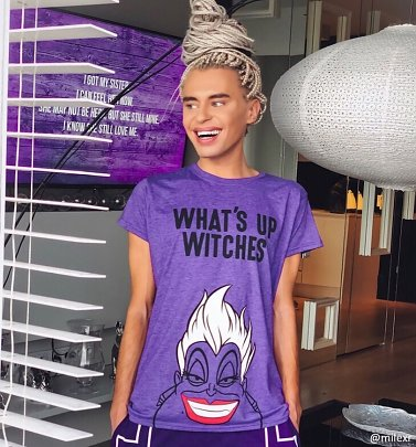 Women's Ursula What's Up Witches The Little Mermaid T-Shirt